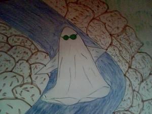 El fantasmita de las gafas verdes